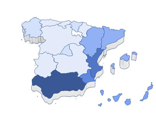 Andalucia attracts the most Spanish house hunters