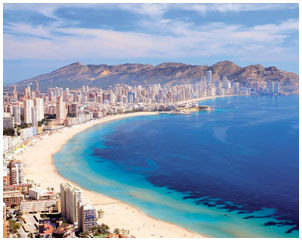 Costa Blanca property is top of the wish list according to leading Spanish property portal