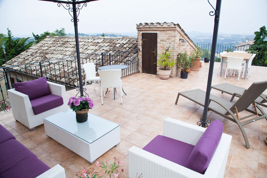 Ditch the grey skies and soak up some sun on these terrific terraces