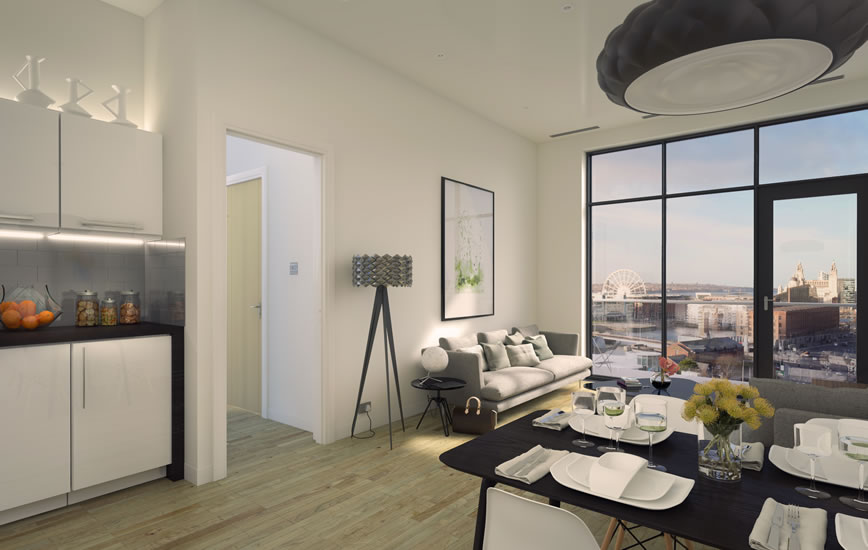 4 for the price of 1! 4 luxury northern apartments for the price of 1 average London home