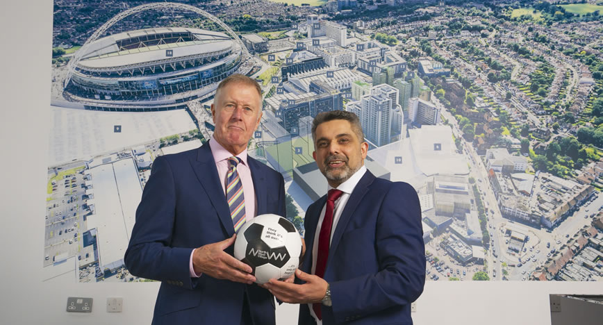 50 years since England's last World Cup victory, Wembley Park scores big with Sir Geoff Hurst