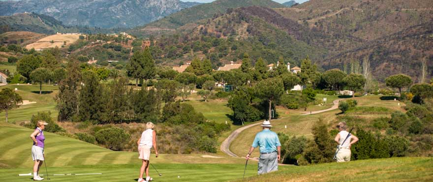Andalucian Open returns to 'Costa del Golf' as golfers go in search of the perfect pad close to the fairway