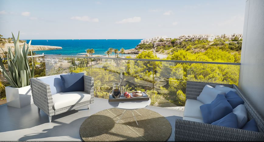 Taylor Wimpey España serve up new sea view homes as the Mallorca Open returns