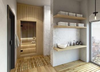 Fourth floor - Sauna- Ernest Place