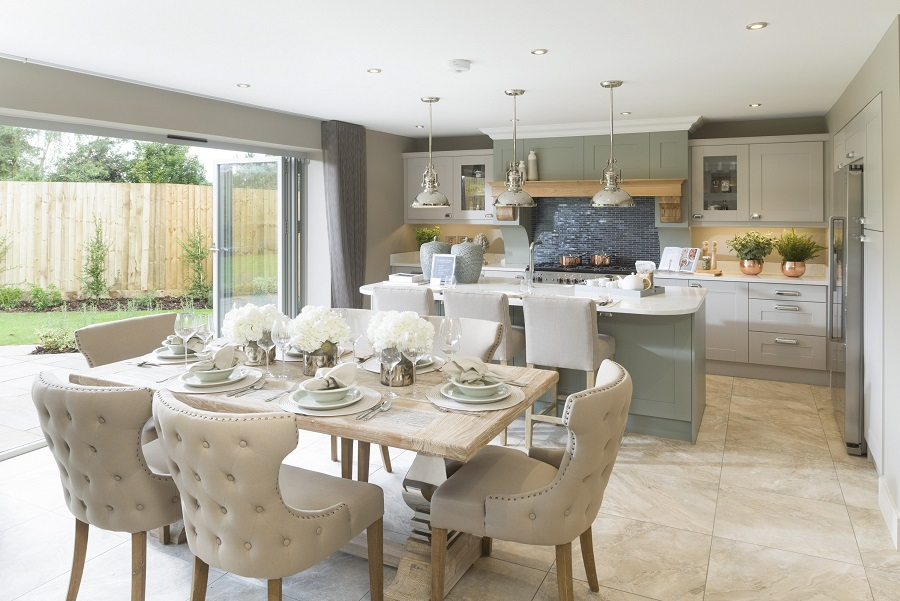 Show home dressing leads to sell out success at Feckenham Gardens