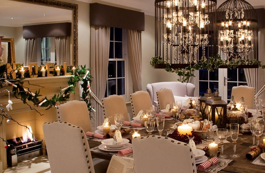 Seasonal Style Secrets: Alexander James Interior Design shares the secrets behind this season's most stylish Christmas homes