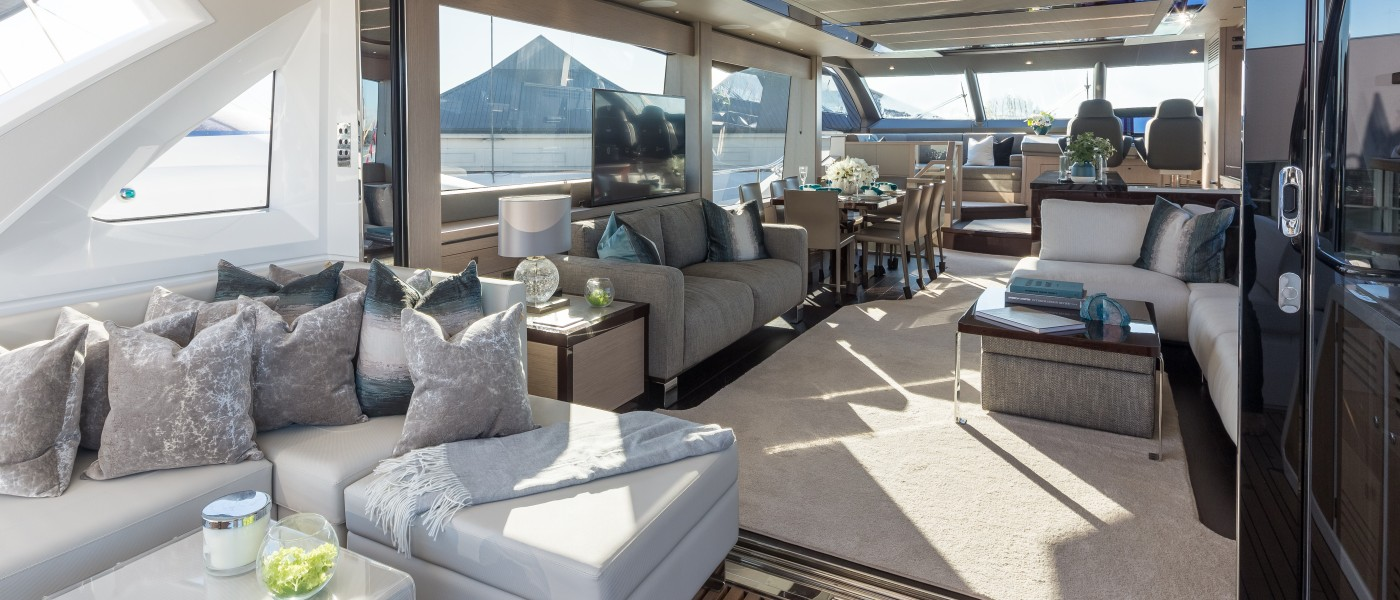 Alexander James Interior Design on course for smooth sailing in 2018 as Sunseeker's partner for the London Boat Show