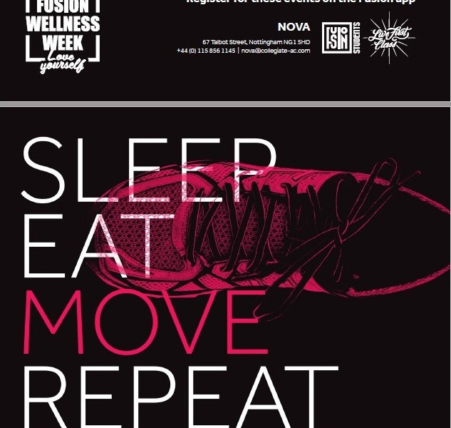 SLEEP, EAT, MOVE REPEAT: Fusion Students puts residents' welfare first with new Wellness Week