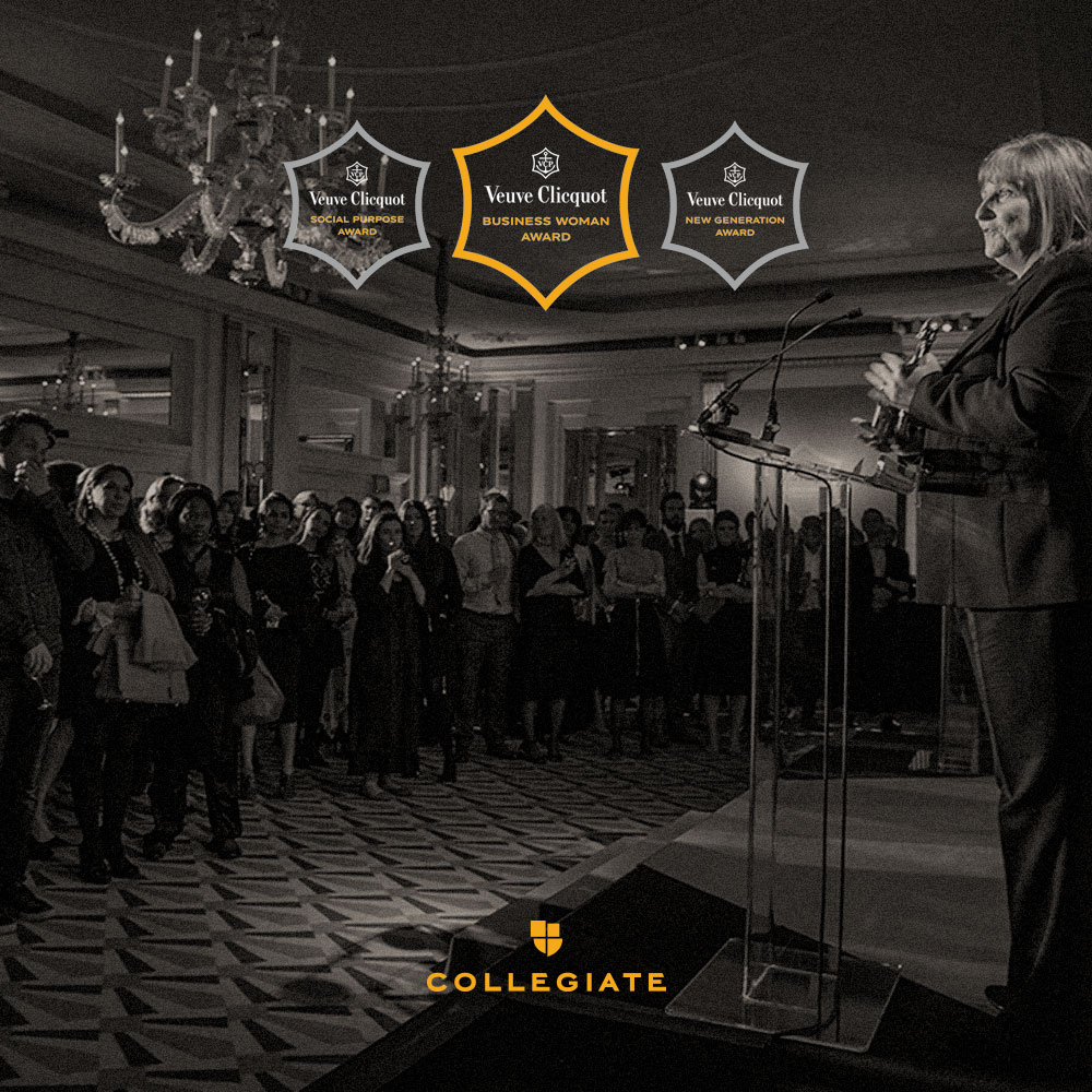 Collegiate and Veuve Clicquot nurture future female leaders at 2018 Business Woman Awards
